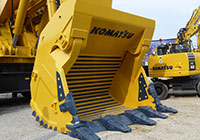 Solintal continues to deliver Buckets to Komatsu