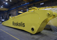 Solintal arm and rocker arm for the maritime works company Boskalis